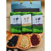 【春上米】好豆禮盒(黑豆*1+紅豆*1+黃豆*1)